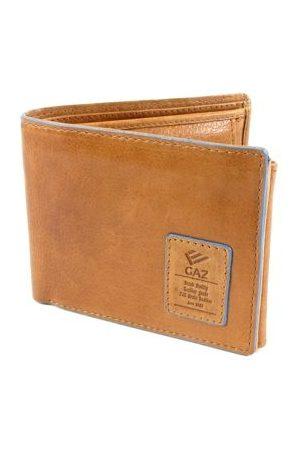GAZ Heren Portemonnees - Heren portemonnee RFID blocking Bilfold laag