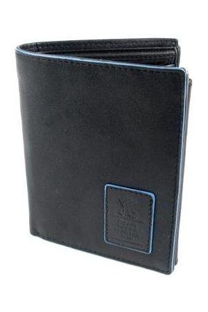 GAZ Heren Portemonnees - Heren portemonnee RFID blocking Bilfold hoog zwart