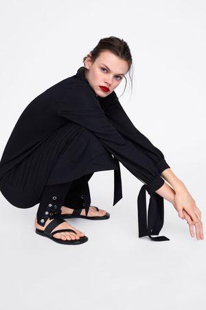 Zara Legging met drukknoopjes