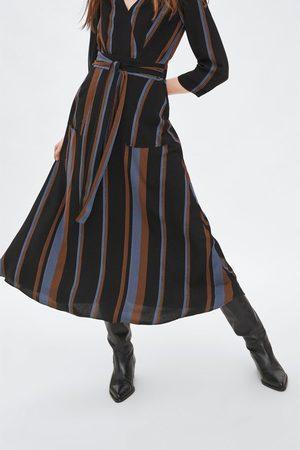 Zara Gestreepte jurk