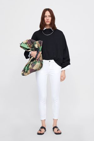 Zara Skinny jeans z1975 met asymmetrische zoom