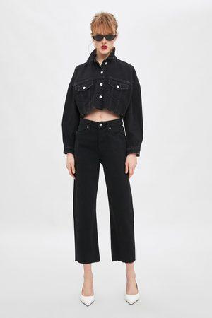 Zara Rechte jeans met hi-rise