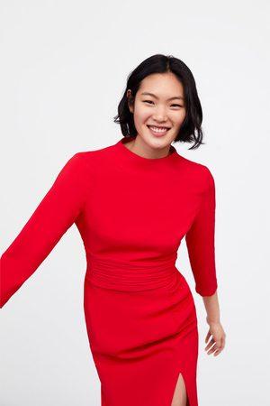 Zara Gedrapeerde jurk