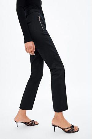 Zara Strakke broek met rits