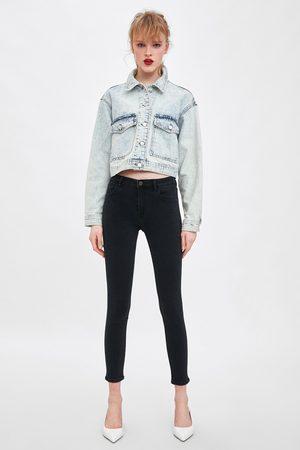 Zara Sculpt jeans met mid-rise
