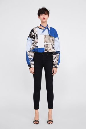 Zara Dames High waisted - Jeans zw premium high waist revolve black