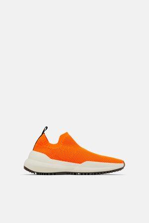 Zara Sneakers van stretchstof