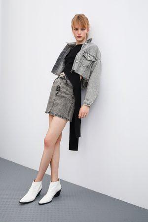 Zara Minirok in verwassen look