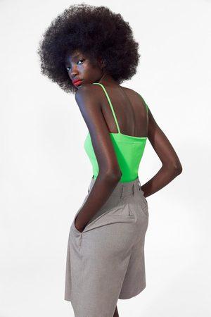 Zara Fluor body met schouderbandjes