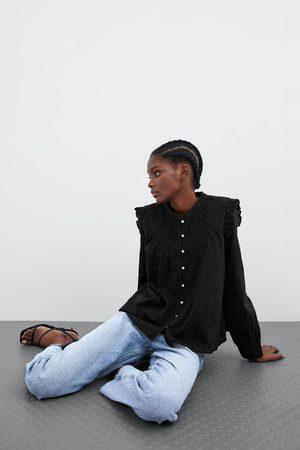 Zara Combi-blouse met guipure