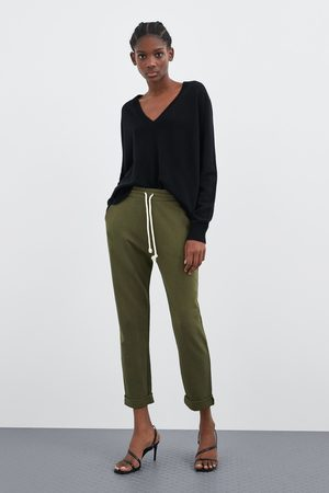 Zara Basic jogger trousers