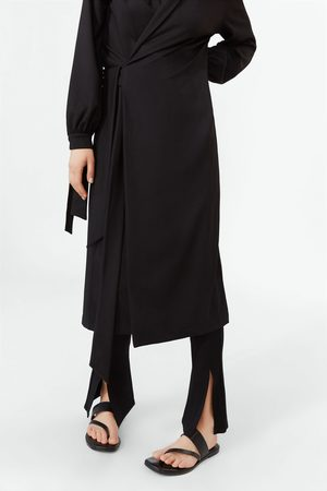 Zara Rechte broek met splitten