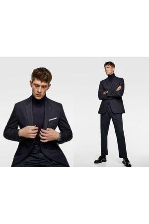 Zara Comfortabele cinzato kostuumblazer