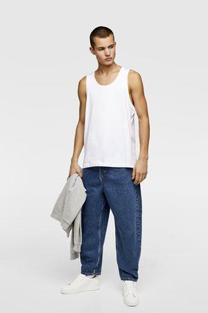 Zara Basic mouwloos shirt