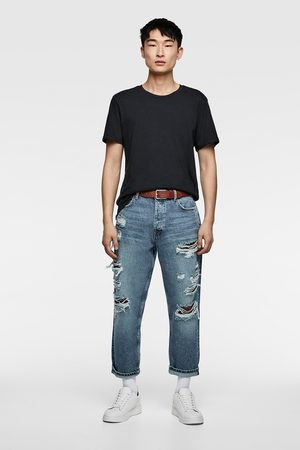 Zara Cropped jeans in relaxed fit