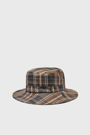 Zara Heren Hoeden - Zachte geruite hoed