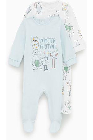 Zara Set van twee pyjama's met monsters
