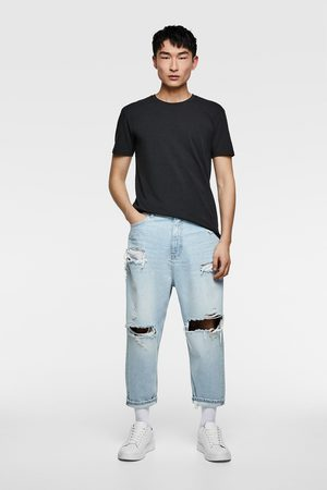 Zara Loose cropped jeans