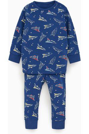 Zara Pyjama met vliegtuigjes