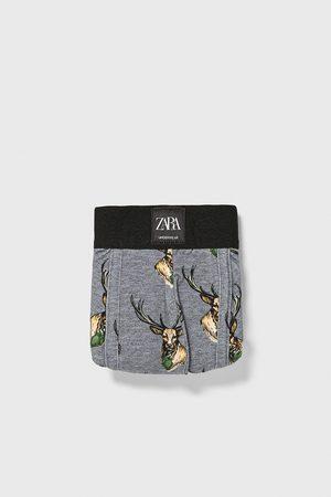Zara Boxershort met hertjes