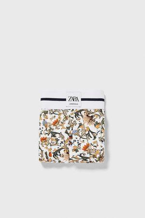 Zara Boxershort met barokprint