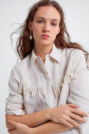 Zara Overhemd met franjes