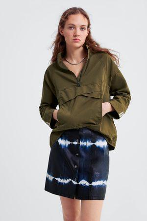 Zara Minirok met tie-dye
