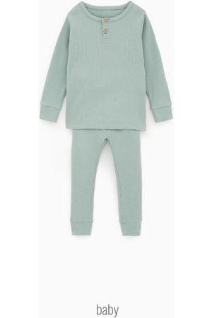 Zara Pyjama met polokraag