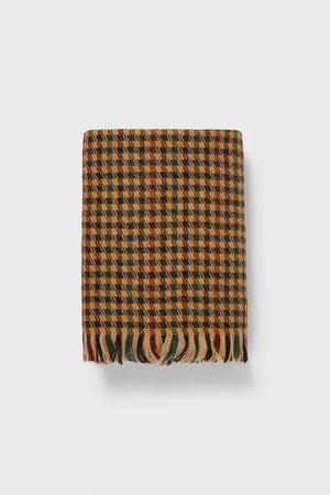 Zara Heren Sjaals - Pied-de-poule sjaal