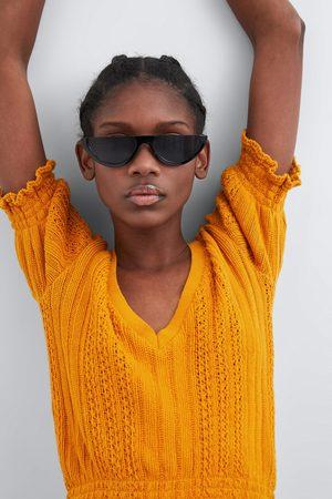 Zara T-shirt met elastische afwerking