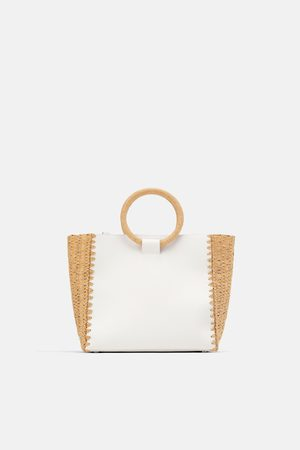 Zara Naturel shopper