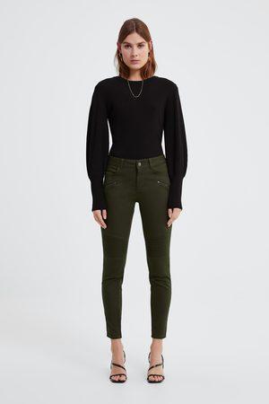 Zara Skinny jeans z1975 met ritsjes