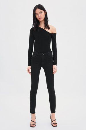 Zara Jeans mid rise skinny compact regular length essential