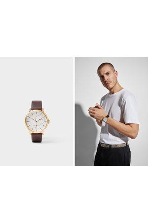 Zara Heren Horloges - Horloge in vintage look met leren bandje