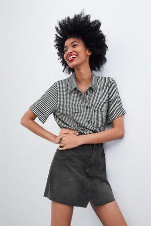 Zara Overhemd met vichyruitjes