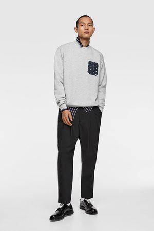 Zara Sweatshirt met combi-zakje