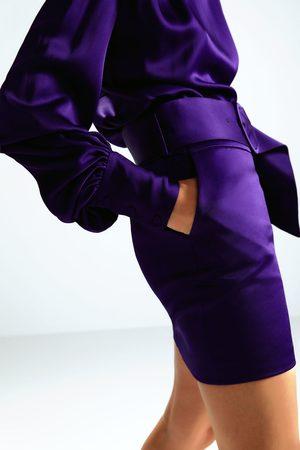 Zara Minirok met ceintuur in limited edition