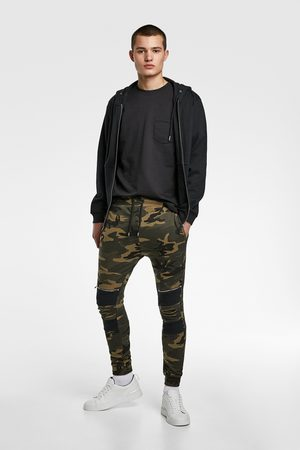 Zara Joggingbroek met camouflageprint