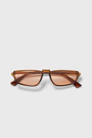 Zara Rechthoekige zonnebril