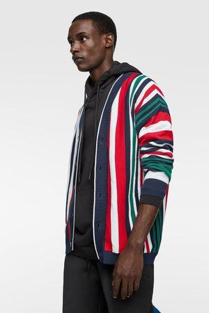 Zara Vest met kleurige verticale strepen