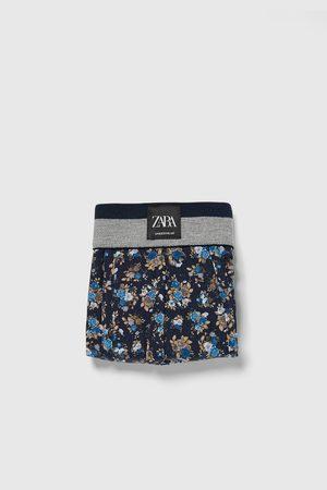 Zara Heren Boxershorts - Boxershort met bloemenprint