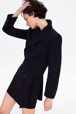 Zara Dames Blazers & Colberts - Dress blazer with belt