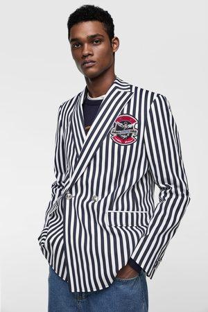 Zara Kostuumblazer met strepen