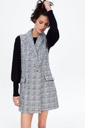 Zara Tweed jumpsuit-jurk