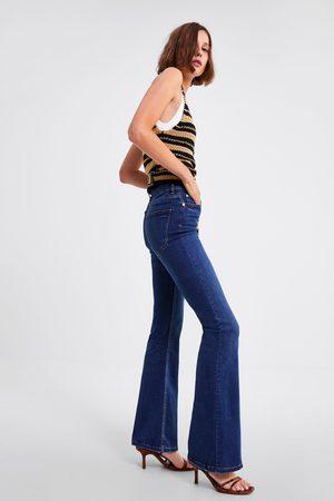 Zara Skinny premium jeans met wijde pijpen