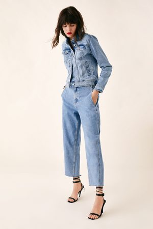 Zara Jeans z1975 met plooien
