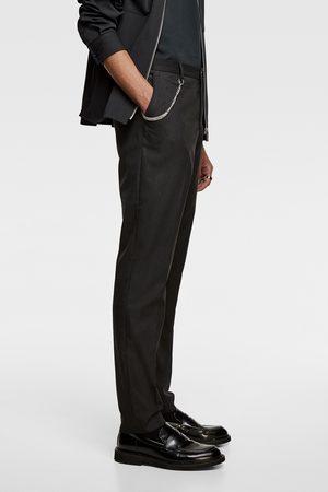 Zara Kostuumbroek met krijtstrepen