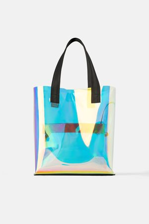 Zara Iriserende shopper