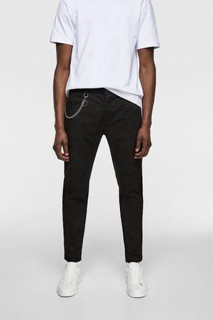 Zara Skinny broek met ketting
