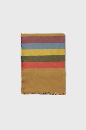 Zara Heren Sjaals - Sjaal met gecombineerde strepen